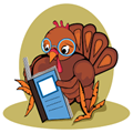 Reading Thanksgiving books