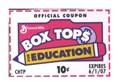 Box Tops Winners Announced image