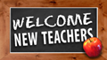 welcome to new teachers