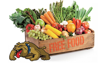 Fresh Food Market Bulldog Logo