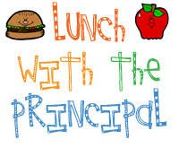 November 2 Principal Lunch