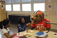 GH Middle School Hosts Kick-Off Event for Fuel Up to Play 60 Program