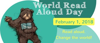 Middle School Participates in World Read Aloud Day 2018
