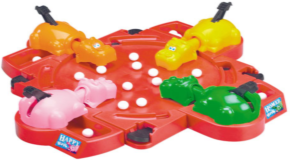 Hungry Hippos at Maple Leaf