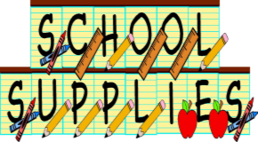 Middle School Supply Lists for 2018-2019 School Year