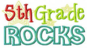 Maple Leaf 5th Grade Celebrates Students