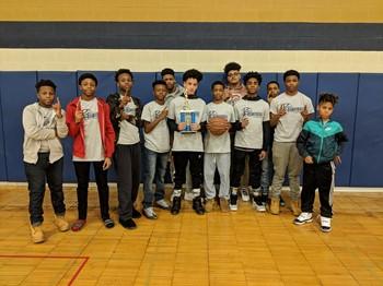 Congratulations 8th Grade Boys Basketball Team