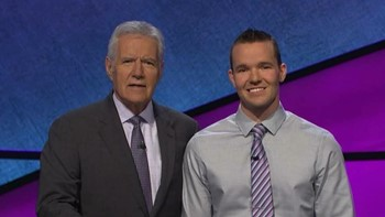 JOhn Presloid and Alek Trebek