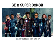 Blood Drive - 4/26 from 8-2pm - GHHS Library