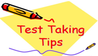 Test Taking Tips for Success!