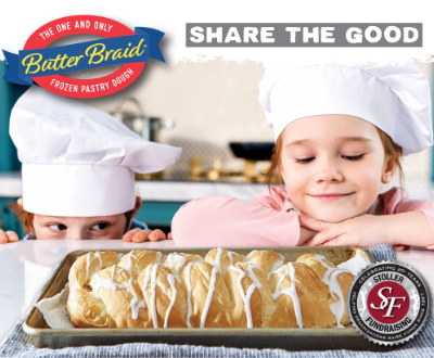 butter braid bread stollers fundraisings