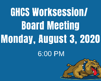 Special Board Meeting on August 3, 2020