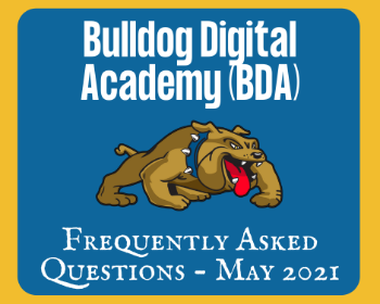 BDA Frequently Asked Questions