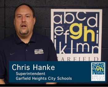 A Special Message from Superintendent Mr. Chris Hanke