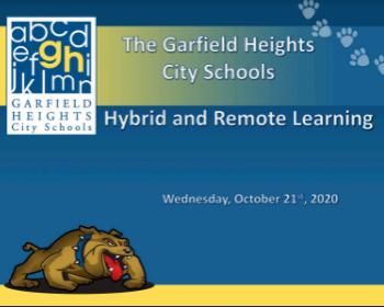 GHBOE Hybrid & Remote Learning Presentation