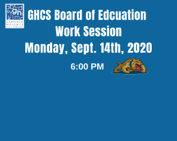 GHCS Board of Education Work session