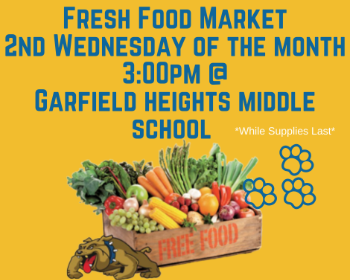 Join us every 2nd Weds. of each Month for our Fresh Food Market