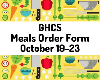 GHCS Meals Order Form (Oct 19 - 23)