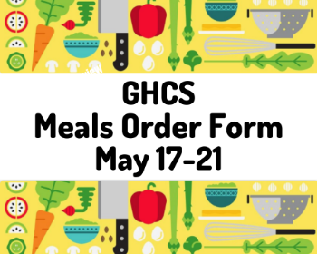 Meal Order Form - May 17-21st