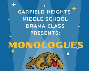 Middle School Students present their 2021 Monologues