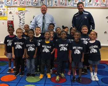 Class of 2032 Received their Official Bulldog T-shirts!