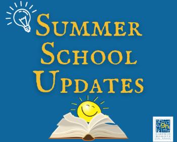 Updates for Summer School Participants