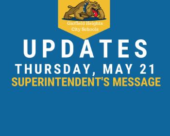 Superintendent's Message