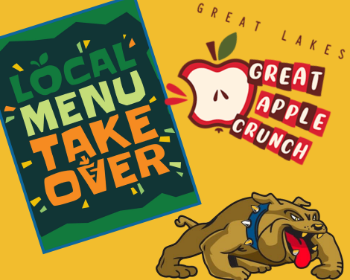 Thursday is not only our FIRST Local Takeover Day, but it's also the Great Lakes Apple Crunch!
