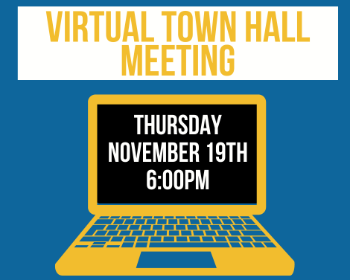 Town Hall Meeting 11/19 @ 6PM
