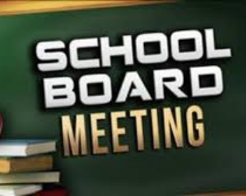 July 20th School Board Meeting