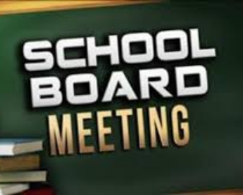 Special School Board Meeting - June 29, 2020