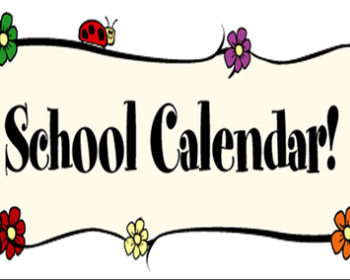 Revised District Calendar for the 2020-2021 School Year