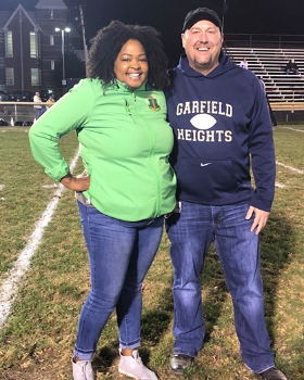 State Rep. Stephanie Howse was our Special Guest at the 2019 Homecoming Football Game.