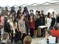 Choir to Jennings Home 2015