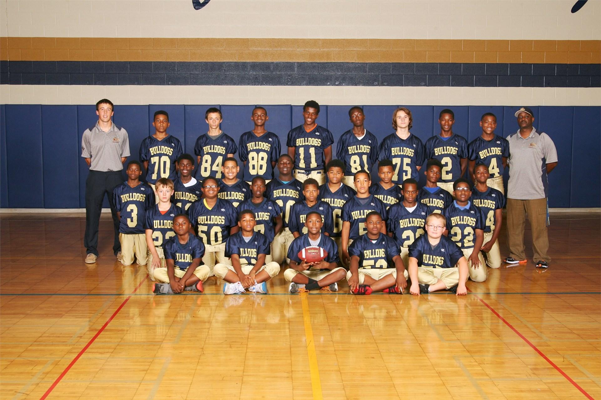 7th Grade Football Team