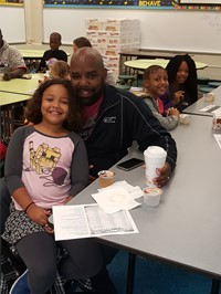 Donuts with Dads - 4th Grade 2016