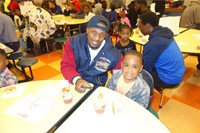 Donuts with Dads - K & PS 2016