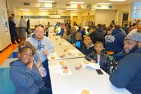 Donuts with Dads - 3rd Grade 2016