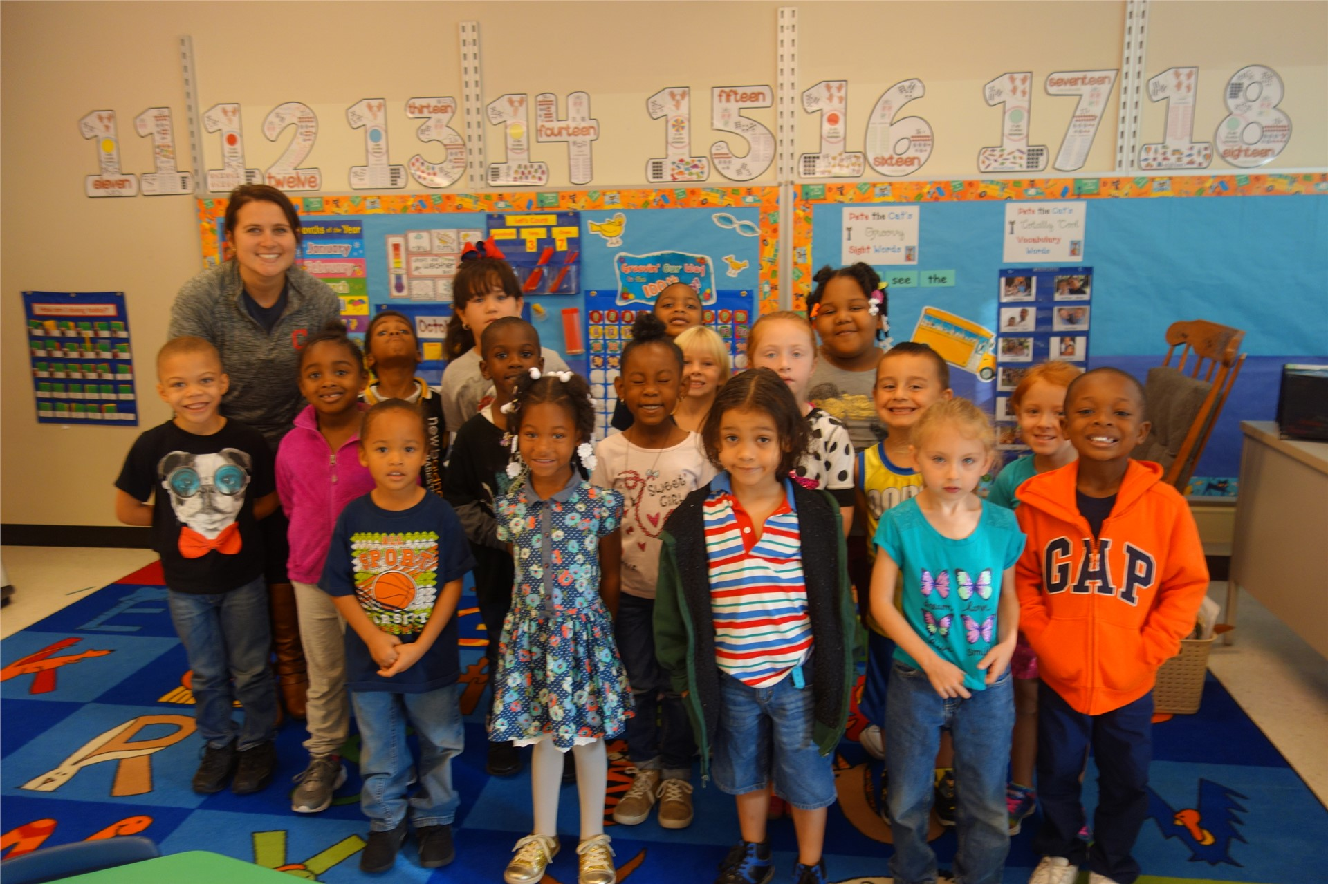 Miss Walden - Kindergarten