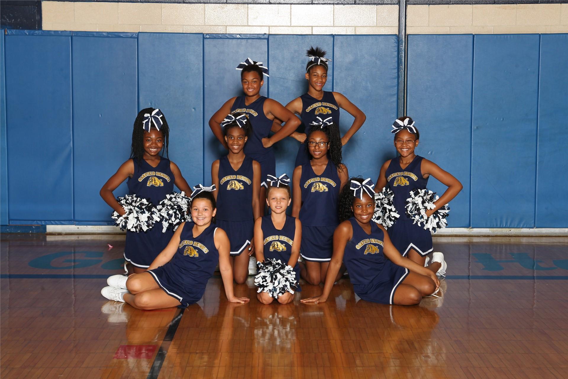 Fall Cheerleaders
