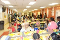 Elmwood Kindergarten Thanksgiving Feast 2016