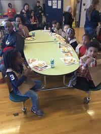 Thanksgiving Kindergarten Feast 2016