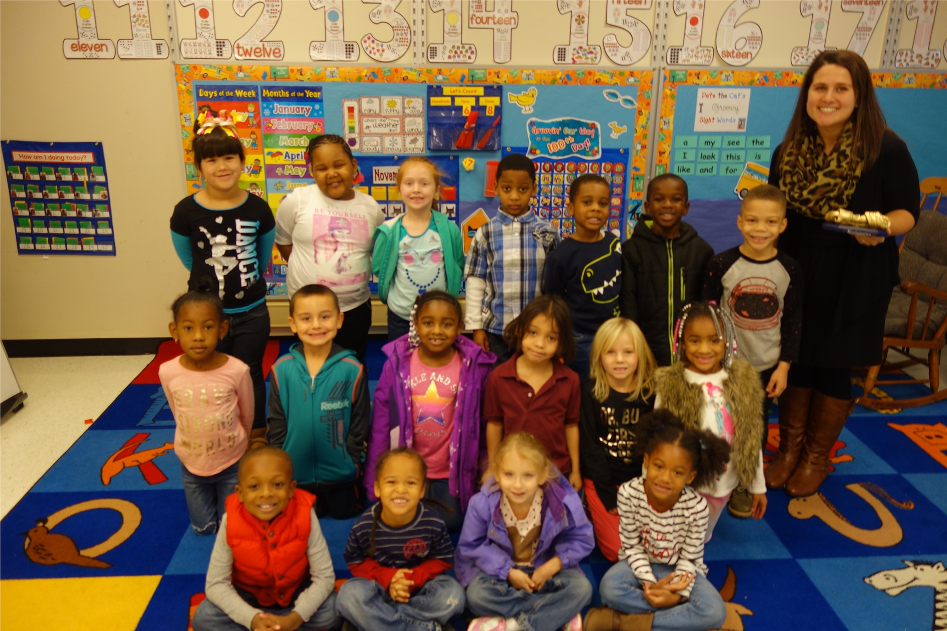 Miss Walden - Kindergarten