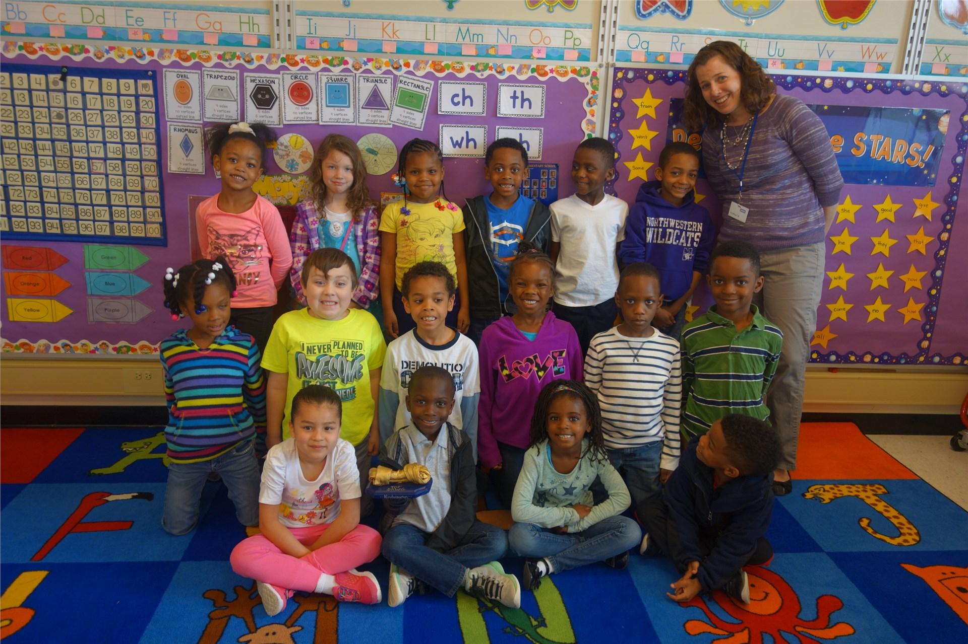 Kindergarten - Mrs. Barnett