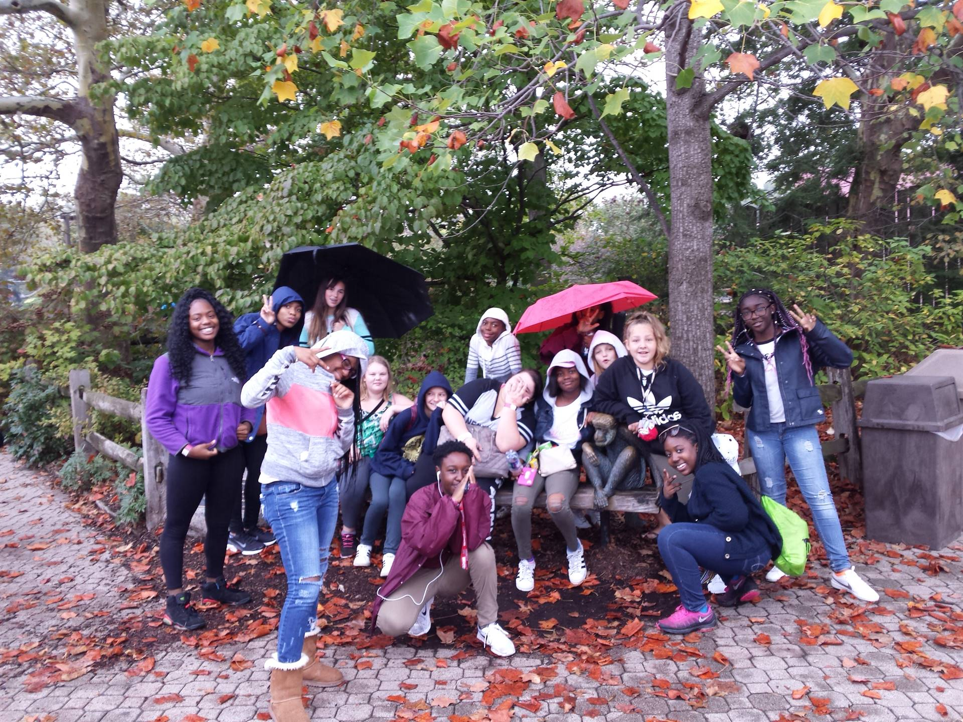 8th grade trip to the zoo for PBIS incentive
