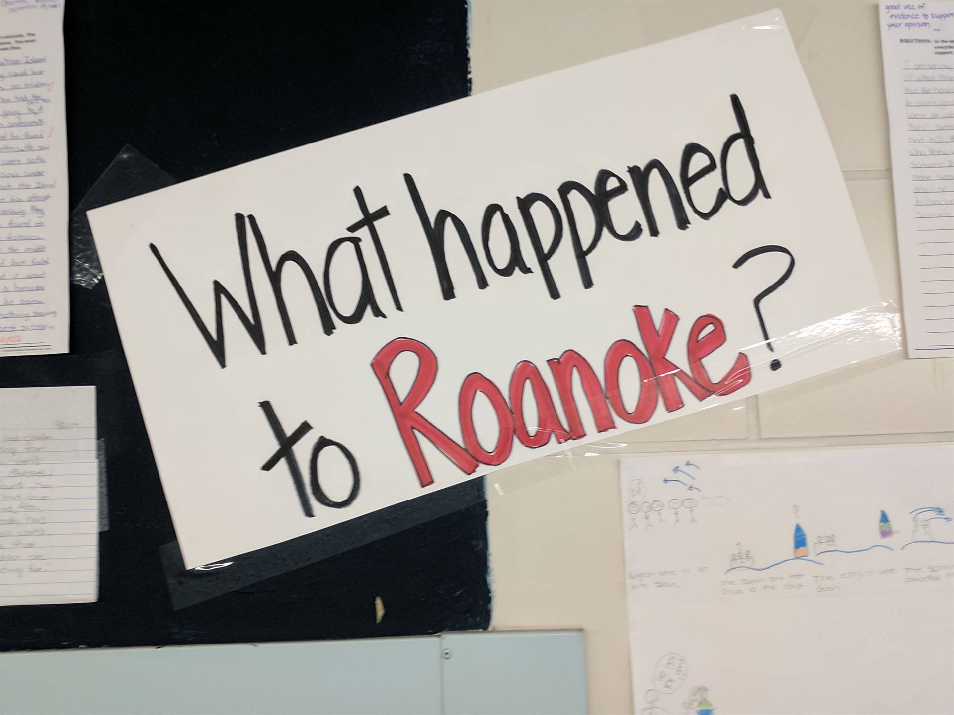 Learning about the Roanoke Colonies
