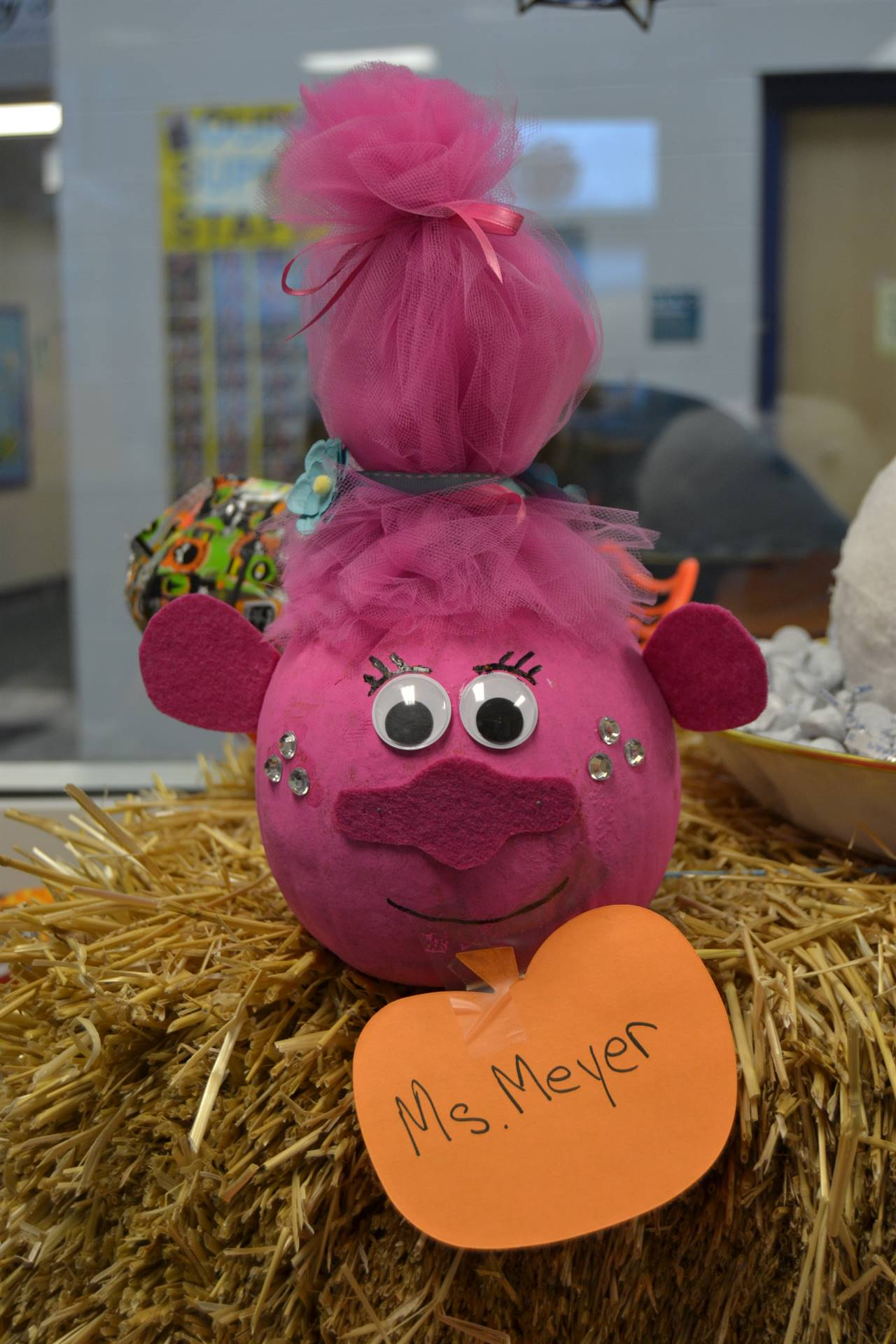 Pumpkin created by Ms. Meyer