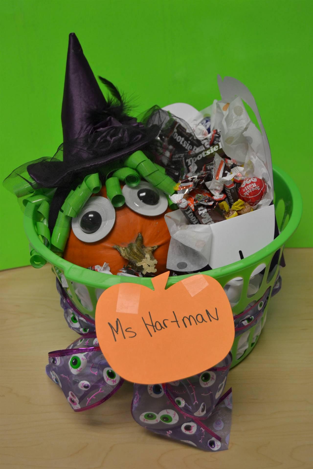 Pumpkin created by Ms. Hartman