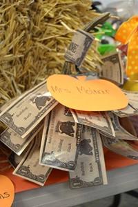 Pumpkin created by Mrs. Molnar