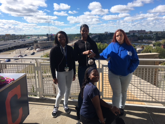 Students of Promise at Cleveland Indians Game
